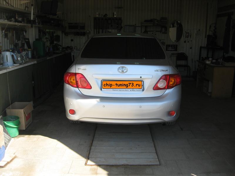 Чип-тюнинг TOYOTA Corolla 2008