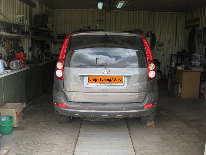 Чип-тюнинг GREAT WALL Hover H5 2012