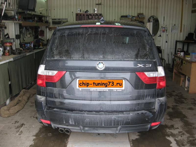 Чип-тюнинг BMW X3 2008