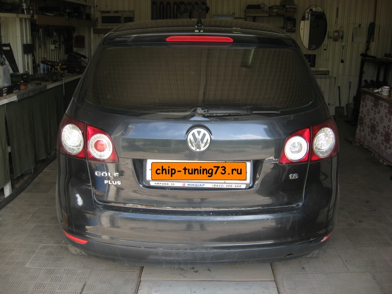 Чип-тюнинг VOLKSWAGEN Golf 2007