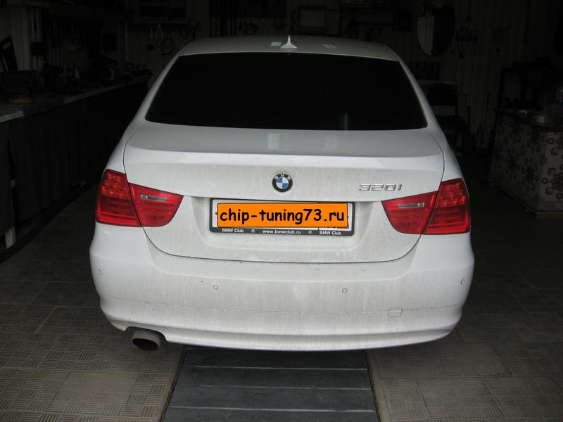 Чип-тюнинг BMW 320 2010
