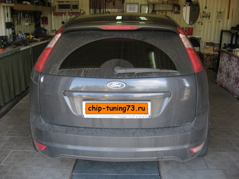 Чип-тюнинг FORD Focus II 2007