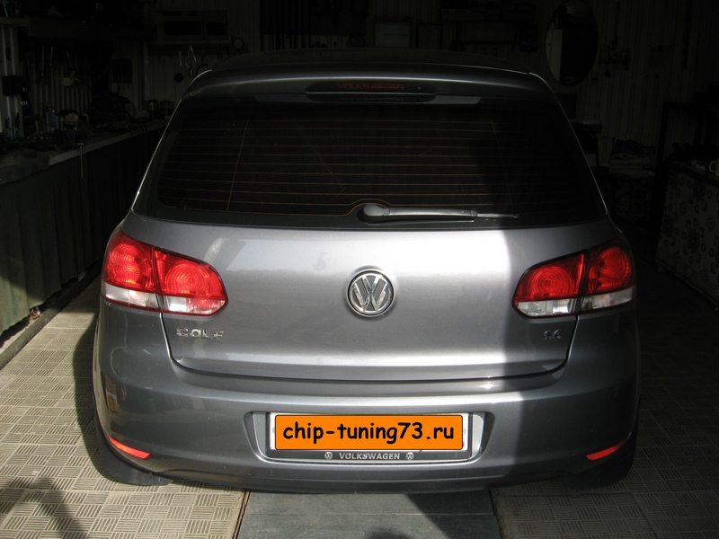 Чип-тюнинг VOLKSWAGEN Golf 2011