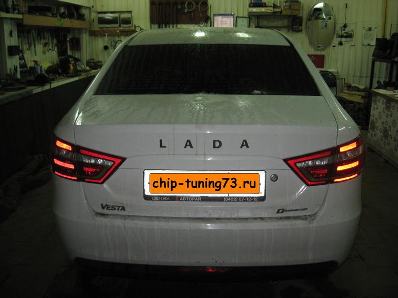 Чип-тюнинг LADA Vesta 2015