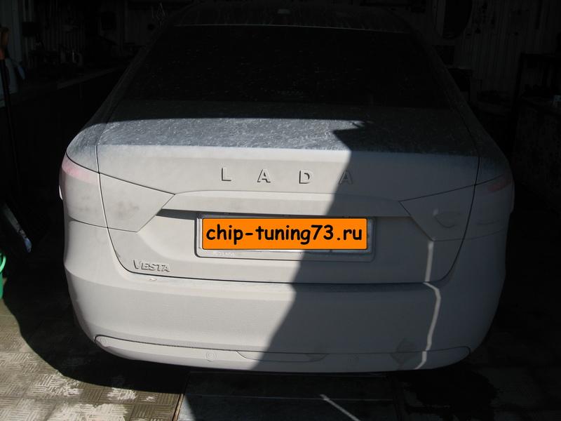 Чип-тюнинг LADA Vesta 2020